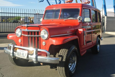 1956 Jeep WILLYS WAGON SUPER HURRICANE 4X4 for sale