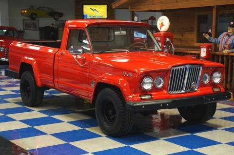 1966 Jeep J-2000 pickup truck, 4×4 for sale