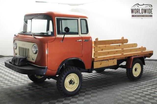 1958 Jeep FC-170 sběratelský kousek!