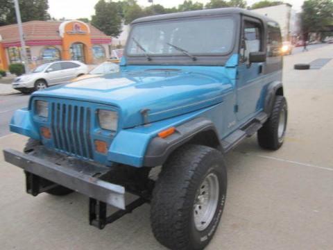 1993 Jeep Wrangler 6 Cylinder, YJ, 4.0 L for sale