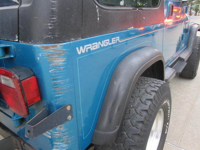 1993 Jeep Wrangler 6 Cylinder, YJ, 4.0 L