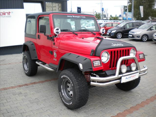 2000 Jeep Wrangler 2.5i for sale