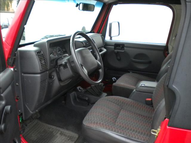 2000 Jeep Wrangler 2.5i