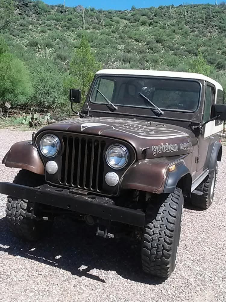 Prodej 1979 Jeep CJ 7 Golden Eagle V8, bez koroze
