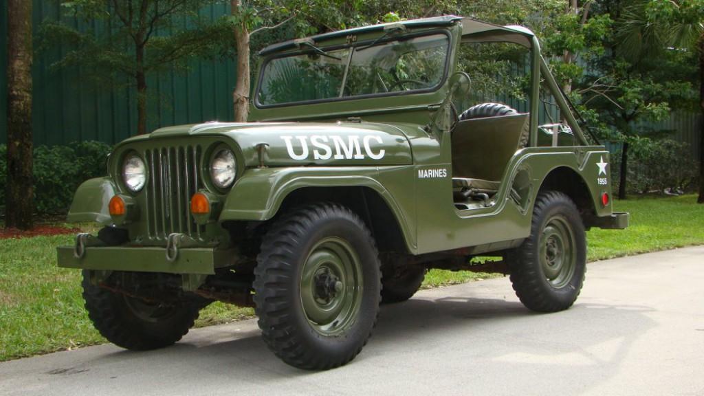 1955 Jeep CJ ARMY Jeep for sale