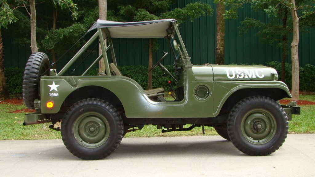 1955 Jeep Cj Army Jeep For Sale