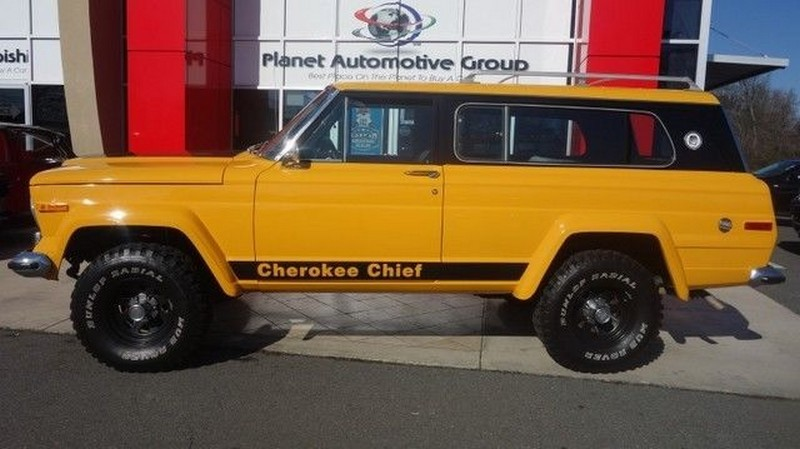 2017 Jeep Cherokee Lifted >> 1977 Jeep Cherokee CHIEF V8 for sale