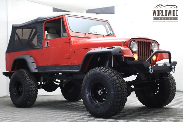1982 Jeep CJ8 Scrambler V8 for sale