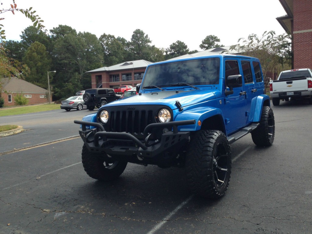 2014 Jeep Wrangler Unlimited Sahara Sport For Sale