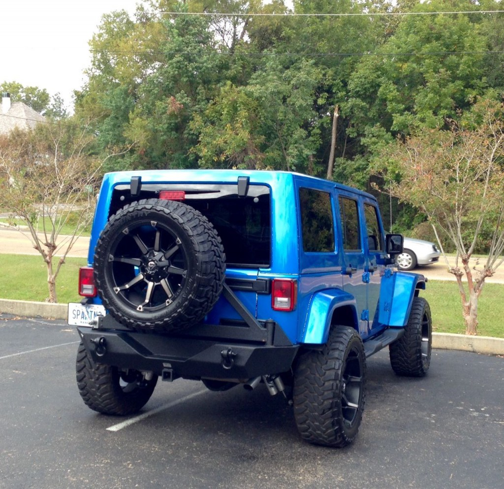 2014 Jeep Wrangler Unlimited Sahara Sport