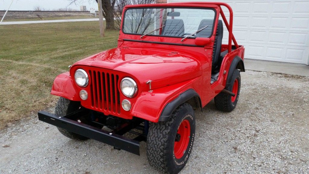 1970 Jeep CJ5 Base Sport Utility 3.7l