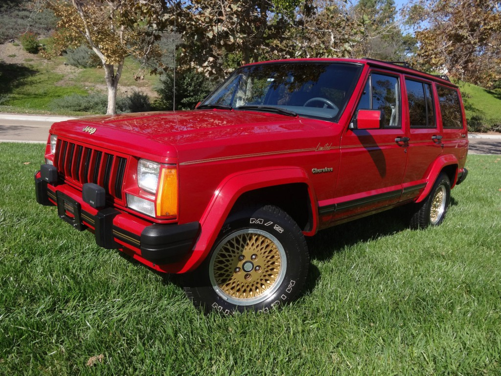 1989 Jeep Cherokee Limited 4.0L for sale