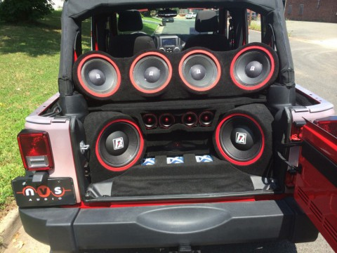 2014 Jeep Wrangler – DJ Jeep fully music system for sale