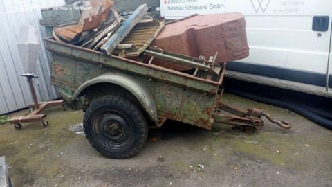 Jeep Willys trailer for sale