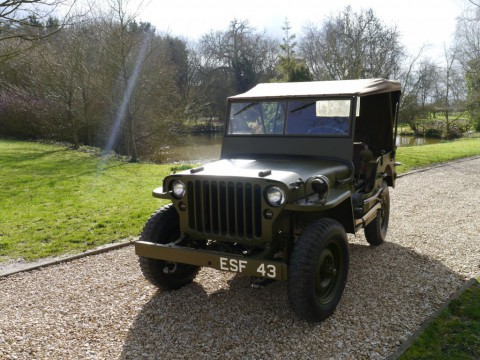 1943 Willys JEEP1-5 HP,  Generál Eisenhower for sale