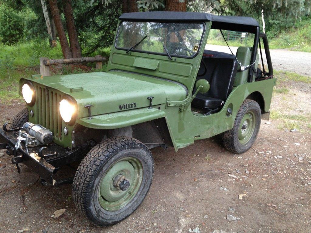 1951 Willys CJ3A