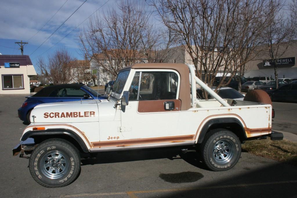 1981 Jeep CJ Scrambler Laredo for sale