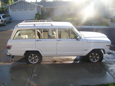 1983 Jeep Wagoneer V8 for sale