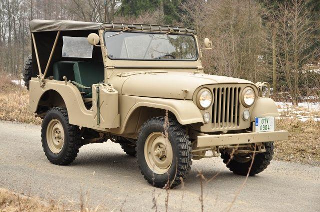 1969 Jeep CJ 5 Kaiser