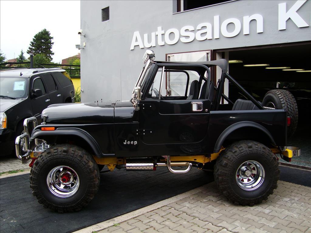 1985 Jeep CJ7, V8