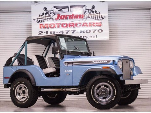 1973 Jeep Renegade II for sale