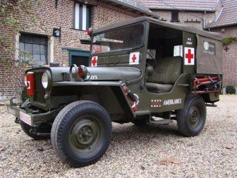 1961 Jeep DJ3A Willys –  Ambulance for sale