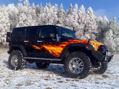 2007 Jeep Wrangler Rubicon Unlimited 3.8 V6 HellCat for sale