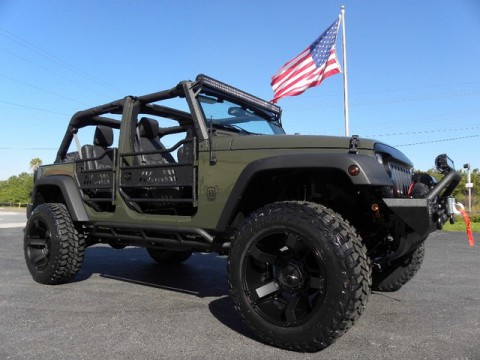 2015 Jeep Wrangler TANK CUSTOM lifted 4×4 for sale