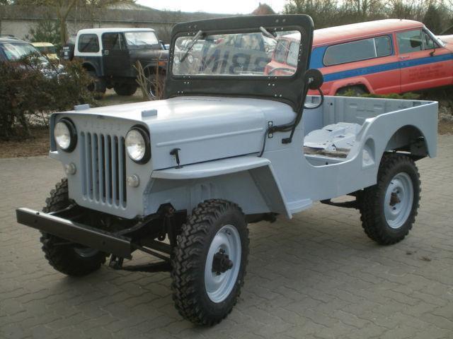 1958 Jeep Willys CJ-3B Bj for sale