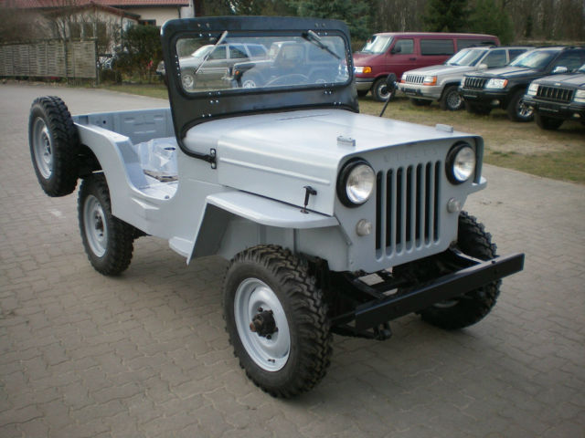 1958 Jeep Willys CJ-3B Bj