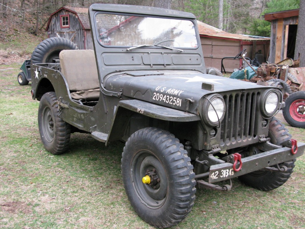 1952  Jeep M38 Willys