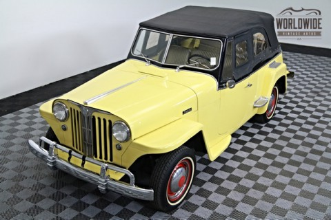 1948 Willys Jeepster Convertible Restored for sale