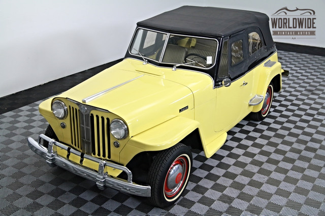 1948 Willys Jeepster Convertible Restored