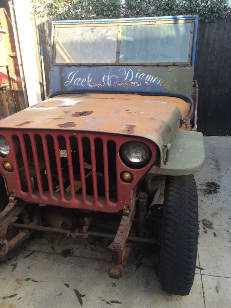 1949 Willys CJ3A for sale