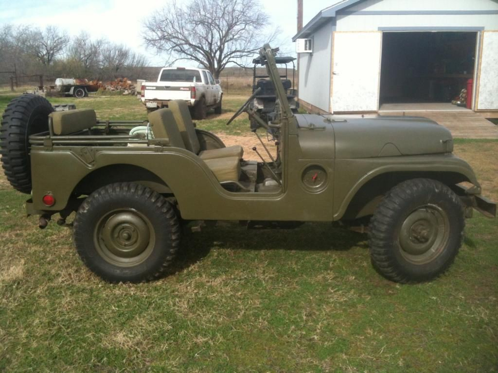 2015 Jeep Wrangler Colors >> 1953 Willys Jeep M38a1 for sale