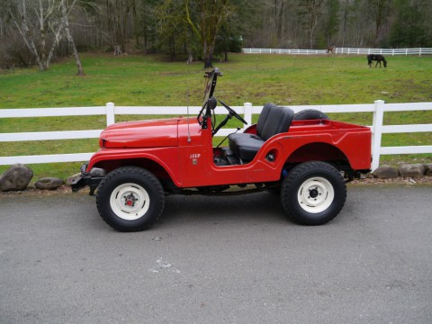 1966 Jeep Willy CJ5 34.000 actual miles for sale