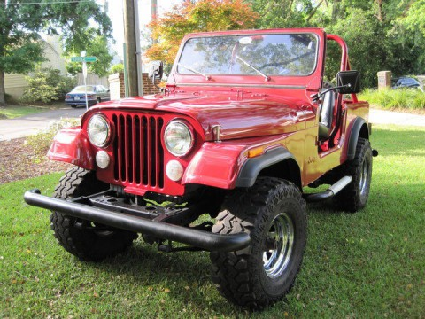 1985 Jeep CJ7 Sport  4,2 l for sale