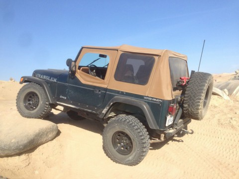 "1995 Jeep Wrangler YJ 33 "" for sale"