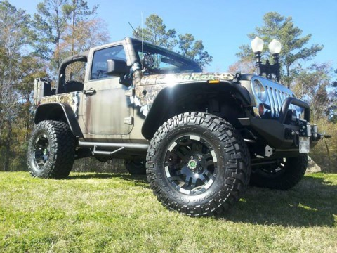 2010 Jeep Wrangler Rubicon-battle Jeep for sale