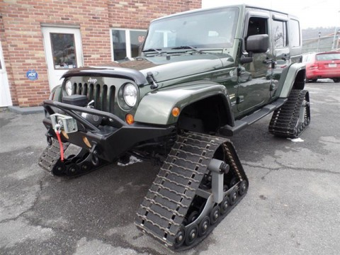 2008 Jeep Wrangler Unlimited 4WD 4DR Sahara for sale