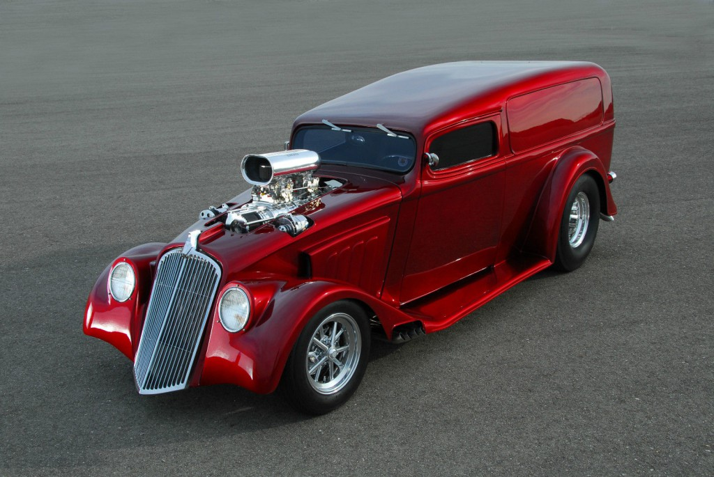 Willys Pro Street Claasic Brown Street Car Hot Rod For Sale X on 1952 Willys Jeep M38 For Sale