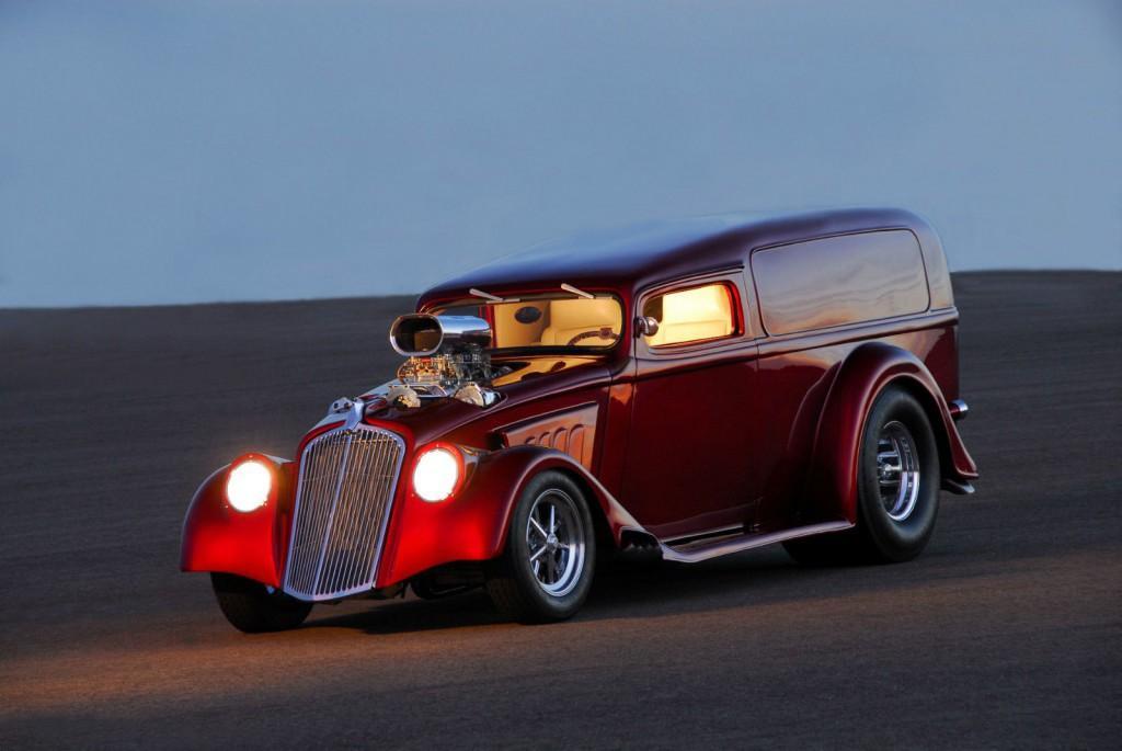 1933 Willys Pro Street Claasic Brown 392 Street Car Hot