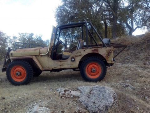 1945 Jeep CJ  civilian Jeep for sale