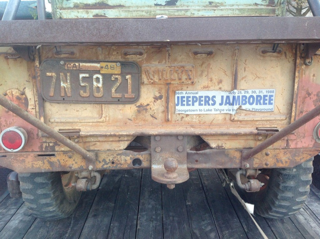 1945 Jeep CJ  civilian Jeep