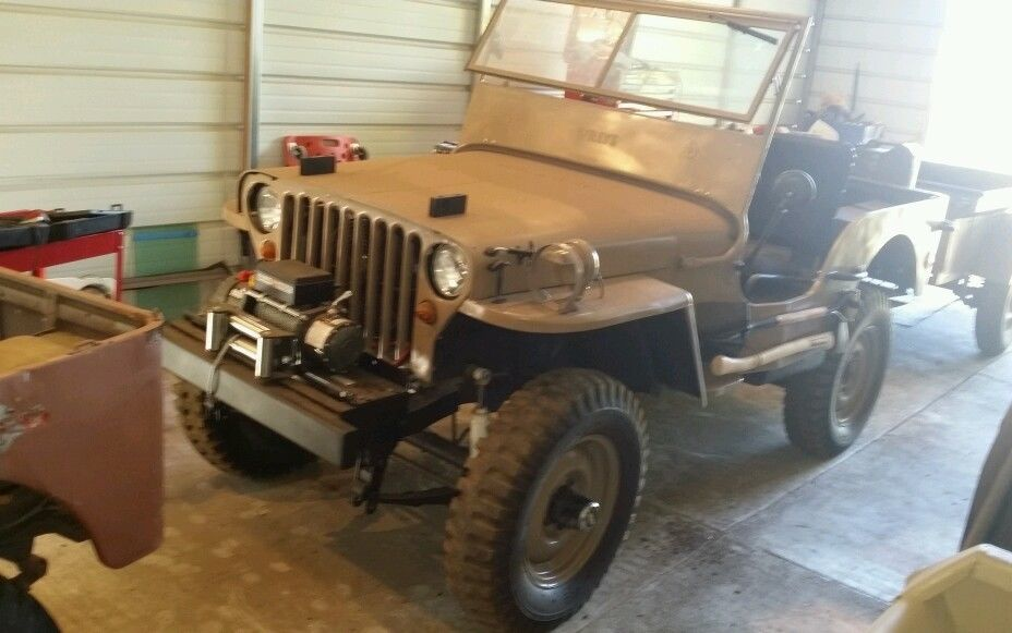 1945 Jeep MB Military