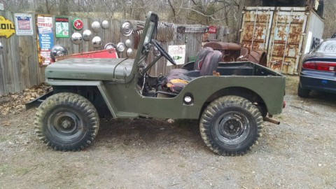 1951 Jeep Willys CJ-3 2.2L for sale