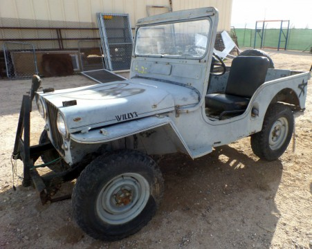1952 Jeep  Willys CJ3A all original for sale