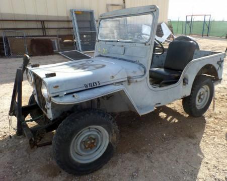 1952 Jeep  Willys CJ3A all original for sale