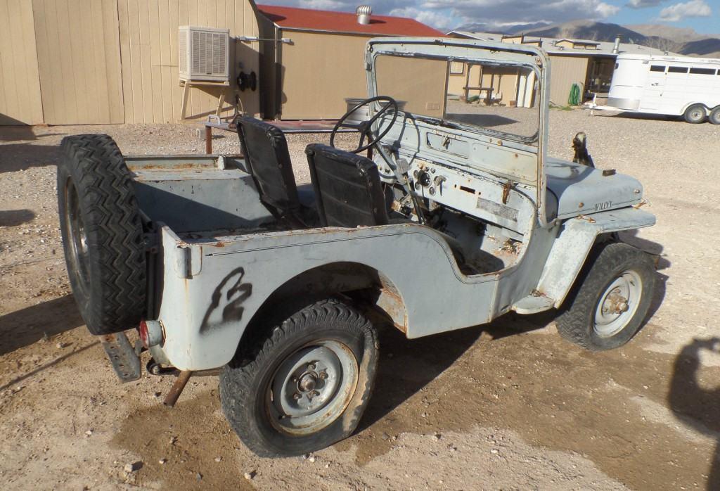 1952 Jeep  Willys CJ3A all original
