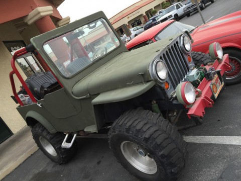 1952 Willys Jeep CJ3A for sale